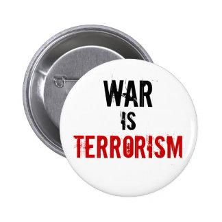 WAR , IS, TERRORISM BUTTON