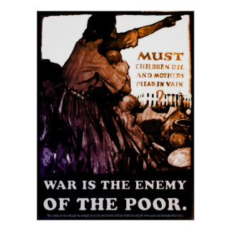 War is the Enemy Poster