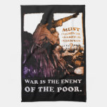 War is the Enemy ~ Sign of the Times Kitchen Towels