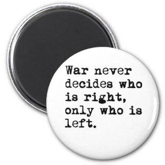 War Fridge Magnet
