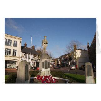 War Memorial, Chesham, Buckinghamshire Card