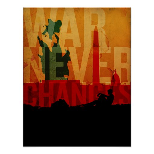 War Never Changes Poster