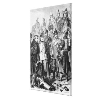 War of Duchies Stretched Canvas Prints