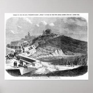War of Duchies, Danish fortifications Poster
