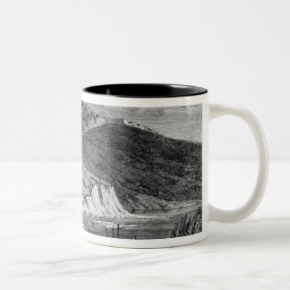 War of Duchies, Danish fortifications Two-Tone Coffee Mug