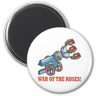 War Of The Roses 2 Inch Round Magnet