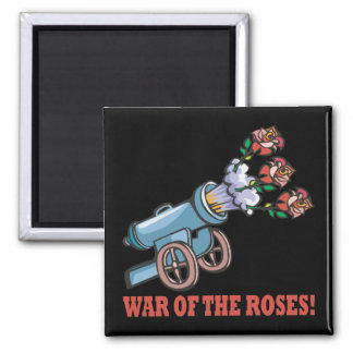 War Of The Roses 2 Inch Square Magnet