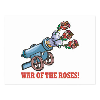War Of The Roses Postcard