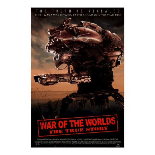 War Of The Worlds The True Story LG Movie Poster
