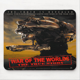 War Of The Worlds The True Story Mousepad vertical