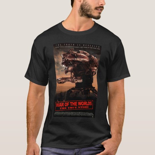 War Of The Worlds The True Story Movie T-Shirt