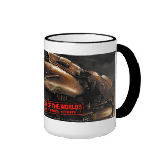 War Of The Worlds The True Story Ringer Mug full
