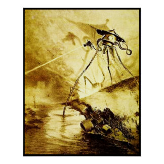 War of the Worlds Tripod - Martian Invasion Poster