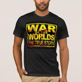 War Of The Worlds True Story YellowRed T-Shirt