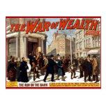 War of Wealth - Postcard