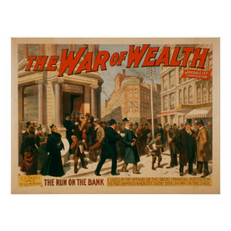 War of Wealth - Theater Poster
