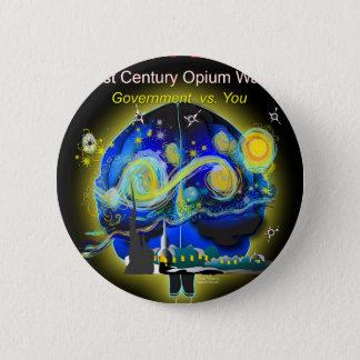 War on Brains Poster Button