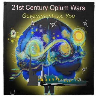 War on Brains Poster Napkin