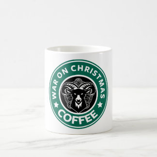 War On Christmas Classic White cup