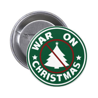 War On Christmas (Tree) 2 Inch Round Button