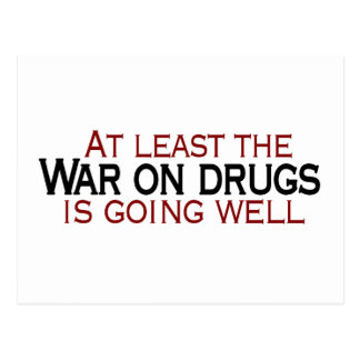 War On Drugs Postcard