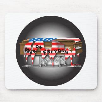 War on Freedom Badge Mousepad
