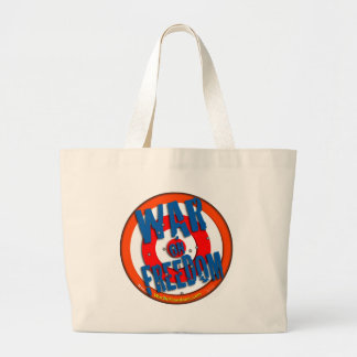 War on Freedom Tote Bag