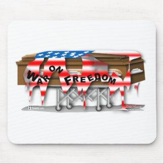 War on Freedom Casket Mousepads