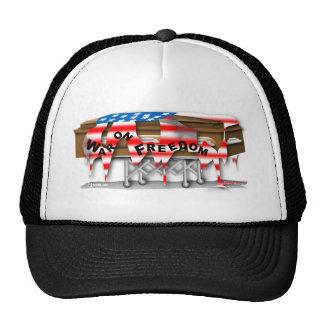 War on Freedom Casket Trucker Hat