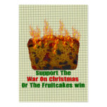 War On Fruitcakes Large Business Cards (Pack Of 100)