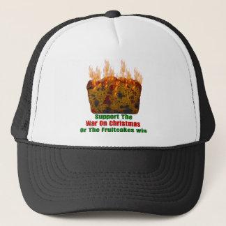 War On Fruitcakes Trucker Hat