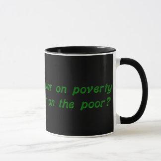 War on poverty mug
