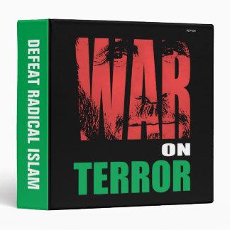 War On Terror Vinyl Binder