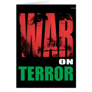 War On Terror Card