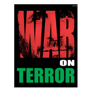 War On Terror Postcard