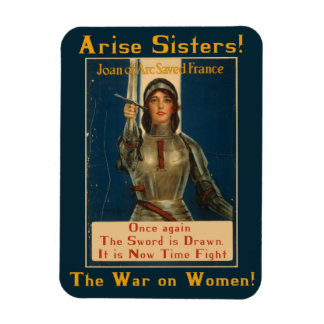 War on Women Political Protest Magnet
