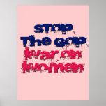 War on Women Poster