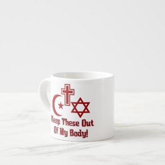War On Women Espresso Mugs