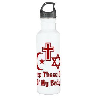 War On Women Stainless Steel Water Bottle