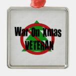 War on Xmas Veteran Christmas Ornament