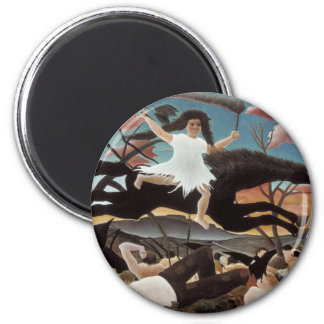 War or the Ride of Discord 2 Inch Round Magnet