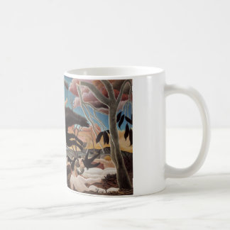 War or the Ride of Discord Classic White Coffee Mug