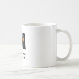 War Paint, THESE COLORSDON'T RUN Classic White Coffee Mug