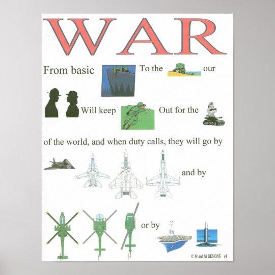 war part 1 poster