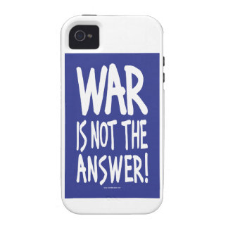 War, Peace iPhone 4 Cover
