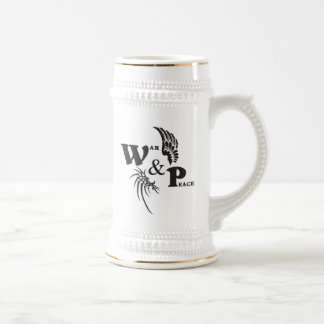 War & Peace Games Club beer stein