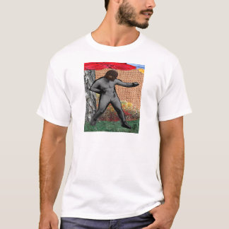 War & Peace & The Narcissist(Surrealist Collage) T-Shirt