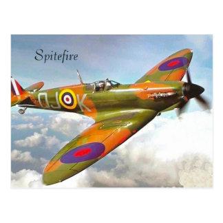 War Plane Postcard