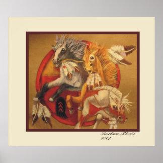 War Ponies Poster