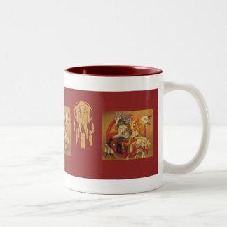 War Ponies Two-Tone Coffee Mug